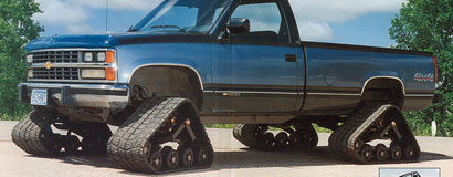 Mattracks was the first to release a rubber track conversion system for sale to the public in 1994