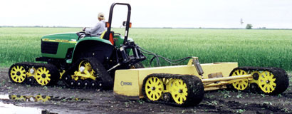 Mattracks was the first to release a Front Wheel Assist rubber track conversion system and the first Rubber Track Trail-R-Mate conversion for sale to the public in 1998