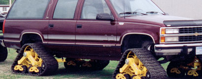 Mattracks was the first to market suspension within a rubber track in 1999