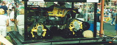 Mattracks was the first to introduce and market a rubber track conversion system to be used on ATVs and UTVs. It was unveiled in 2000 at the Minnesota State Fair