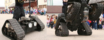 In 2004, Mattracks developed Mattways for parades and the Mattracks Extreme Team performed in parades in 2016 with daring stunts and dangerous tricks