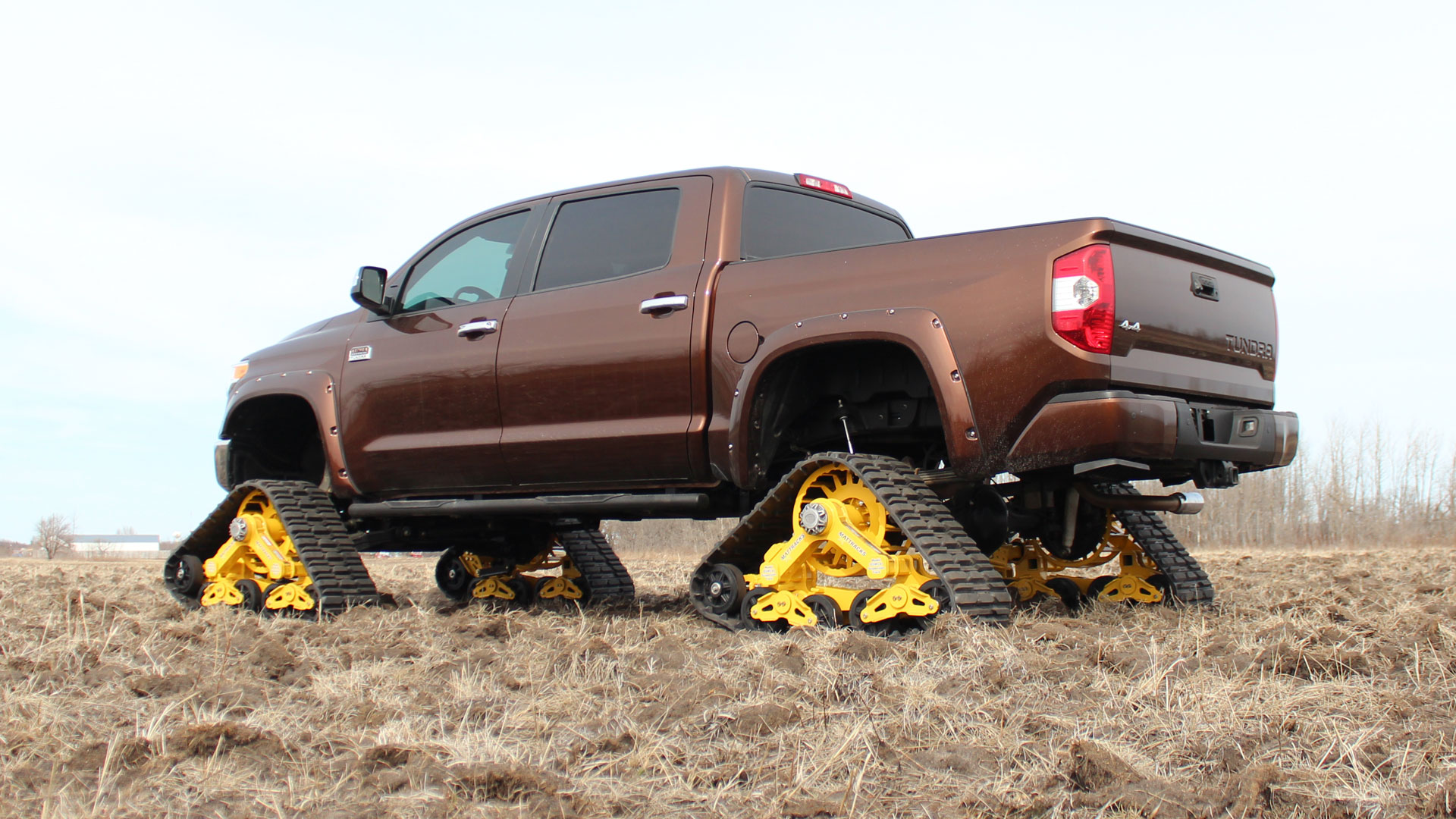 105 Tracks on a Toyota Tundra