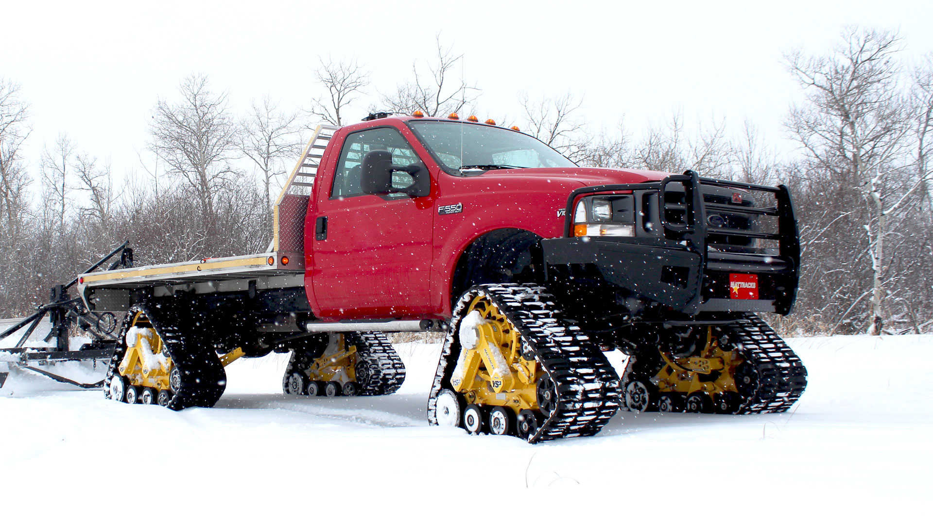 175 Tracks on a Ford F-550