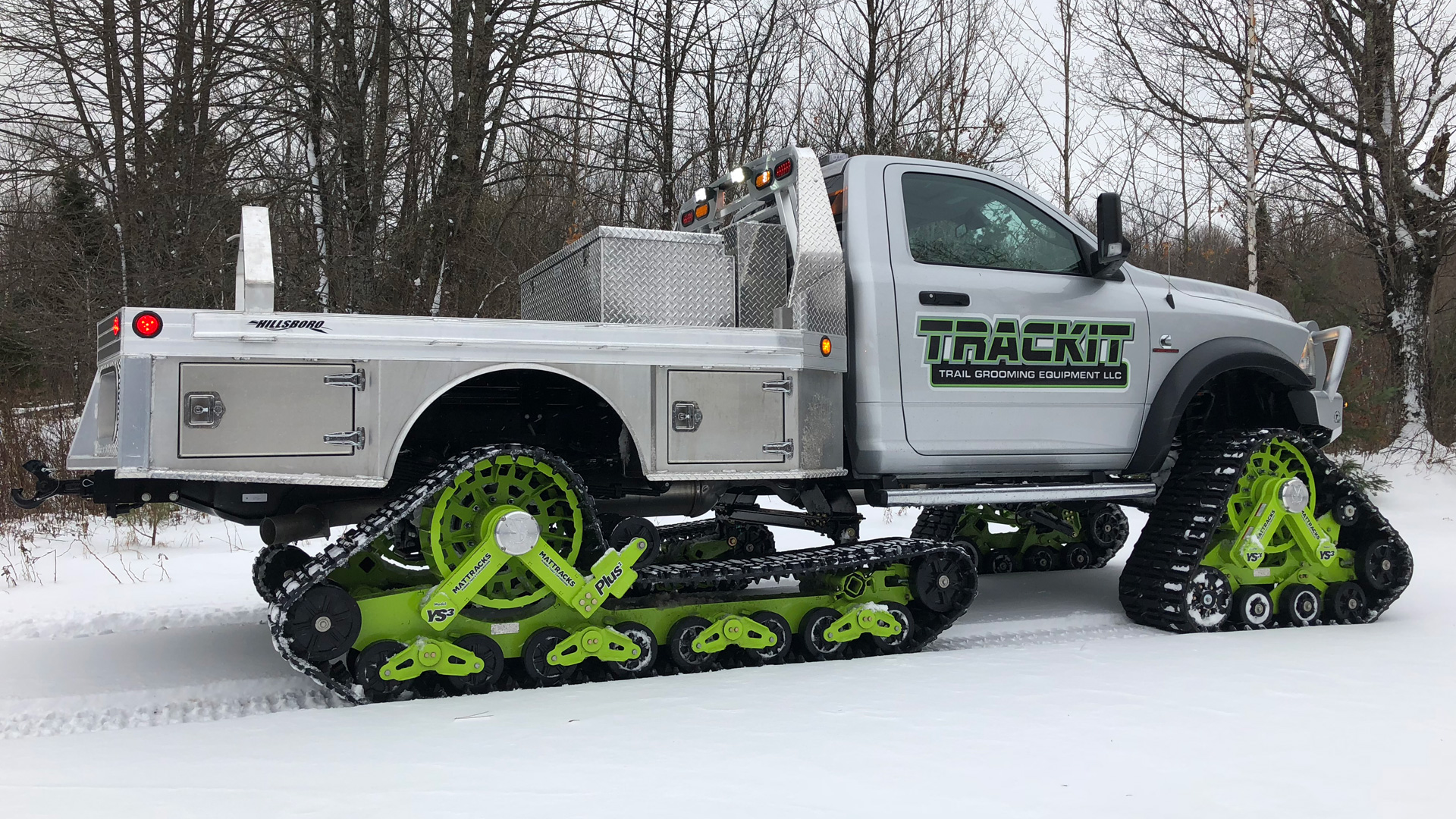 175-YS3 Plus Tracks on a Ram 5500