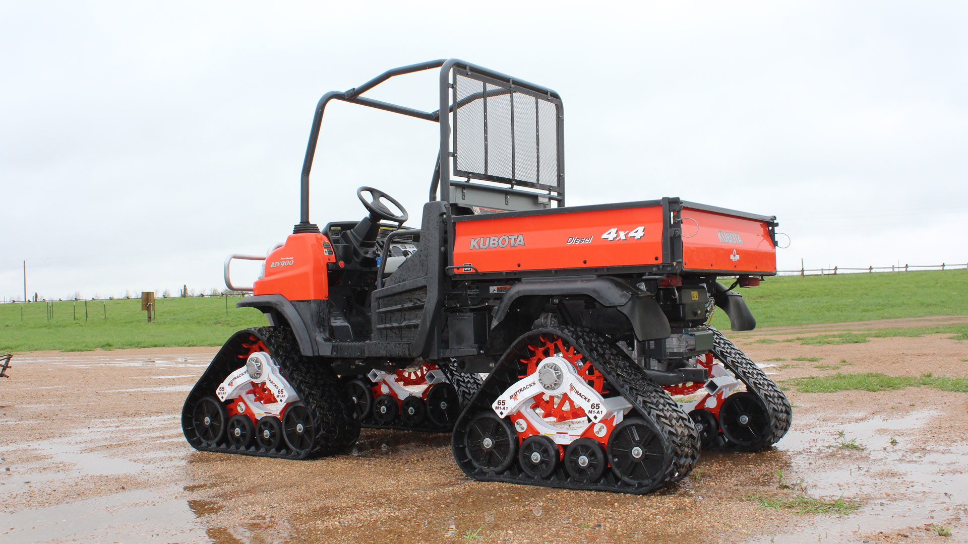 65 Series Tracks on a Kubota RTV900