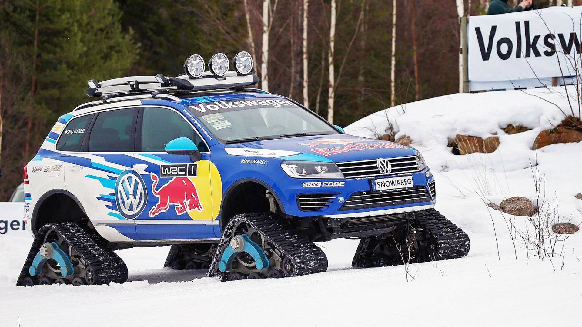 88 Tracks on a Volkswagen Touareg