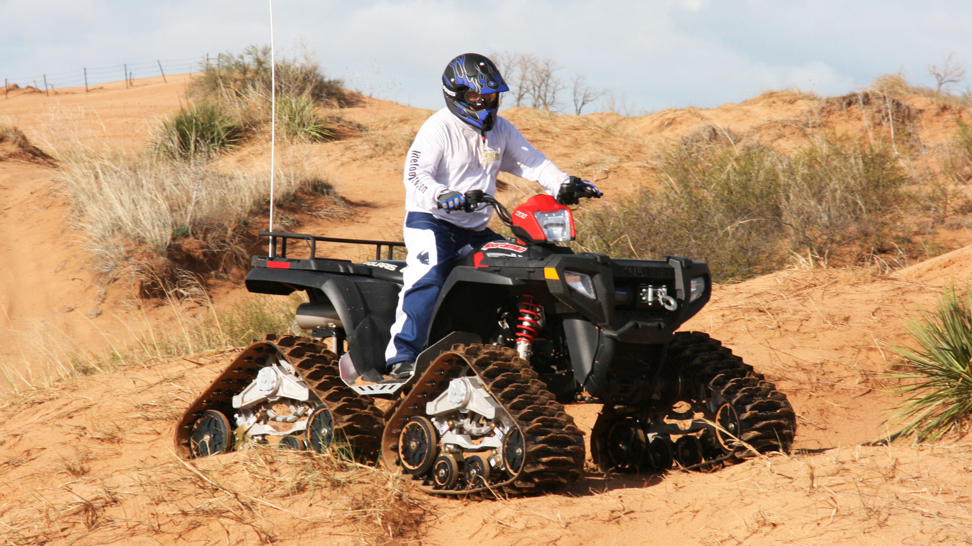 M3 Series Tracks on a Polaris Sportsman