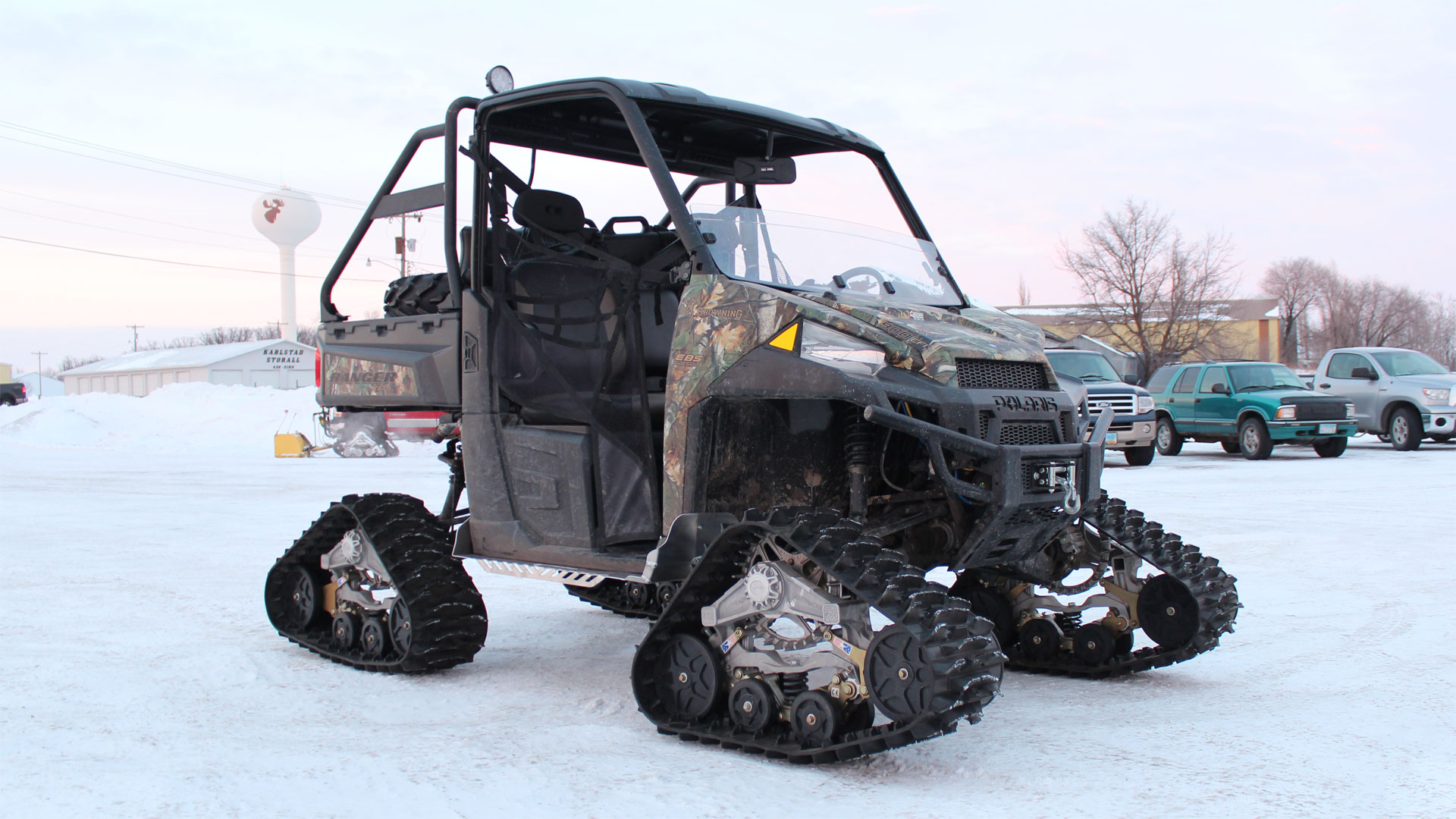 M3 Series Tracks on a Polaris Ranger XP
