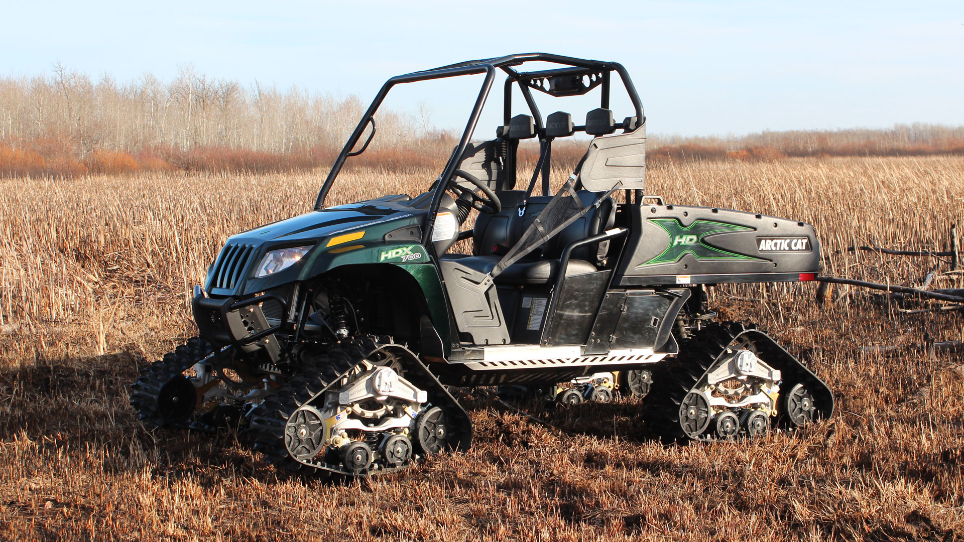 M3 Series Tracks on a Arctic Cat HDX 700