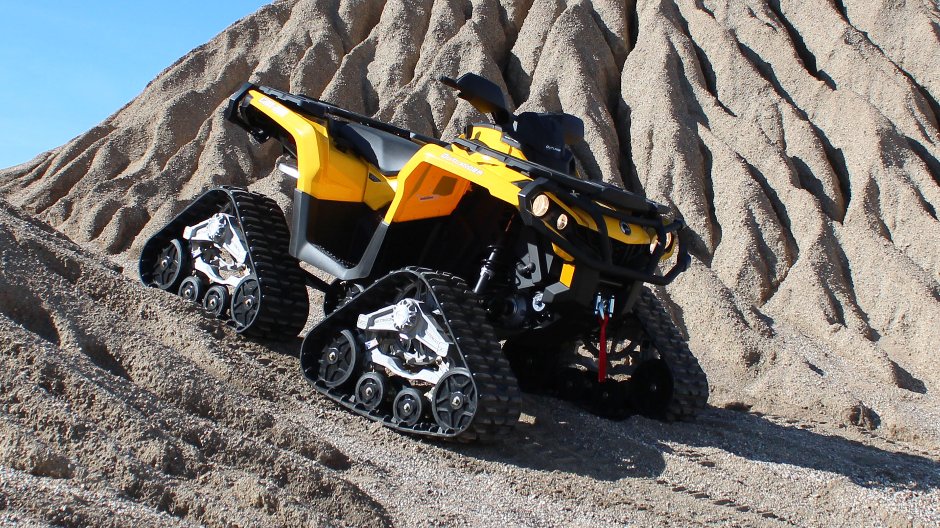 EZ HD Tracks on a Can-am Outlander XT 1000
