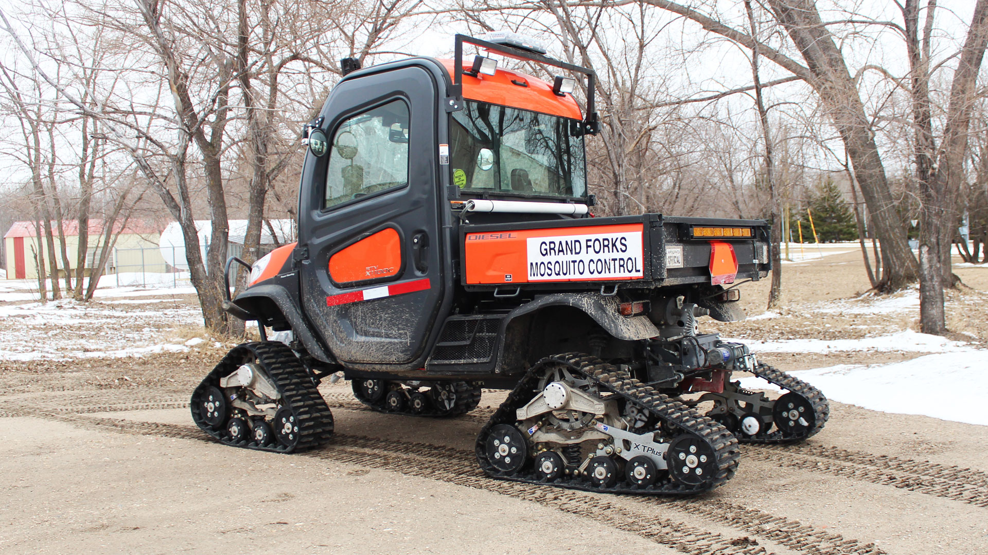 EZ HD Tracks on a Kubota RTV-X1100
