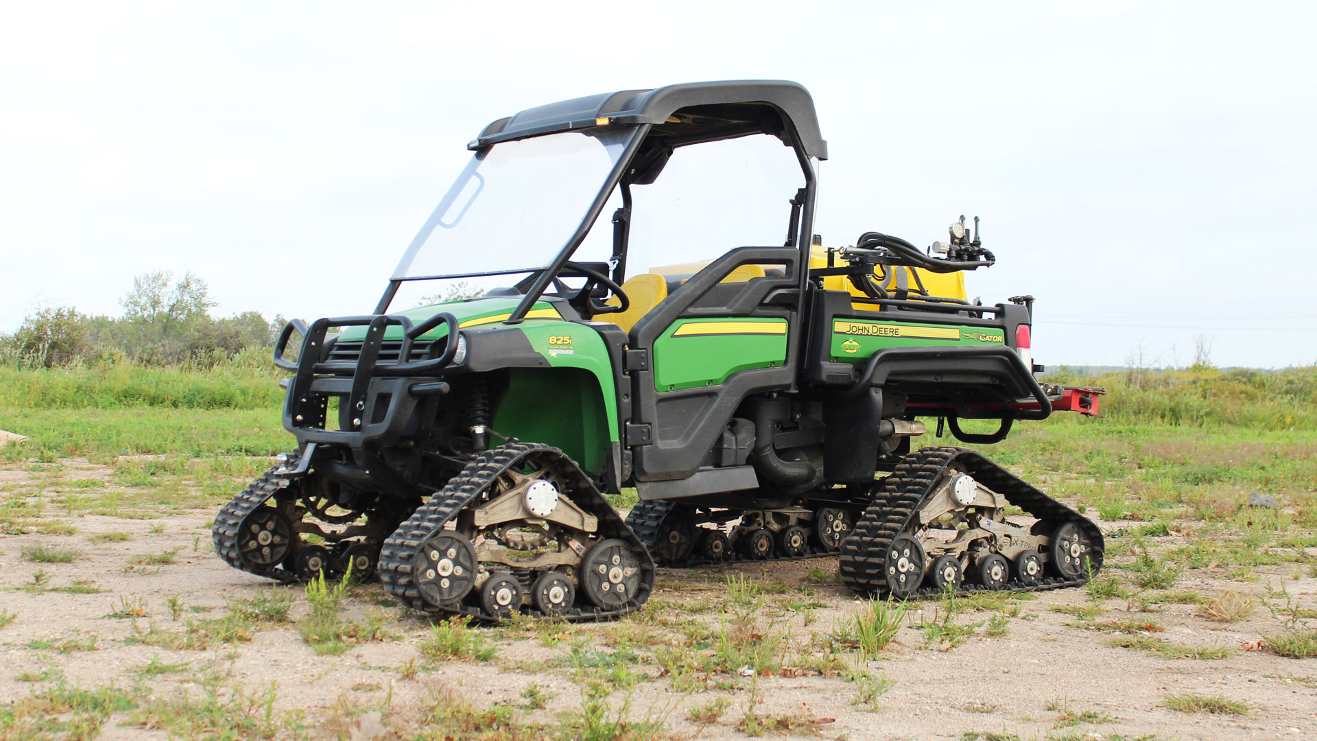 EZ HD Tracks on a John Deere Gator 825i