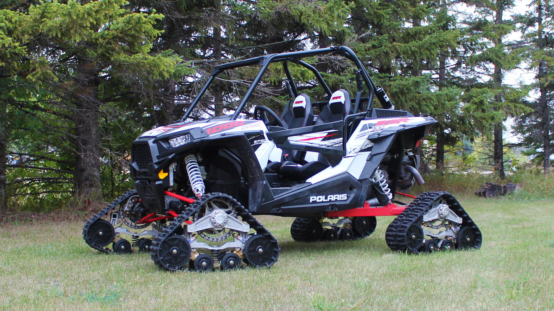 EZ HD Tracks on a Polaris RZR XP 1000